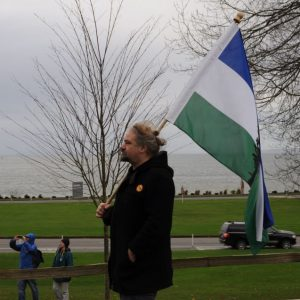 Cascadia flag alexander baretich