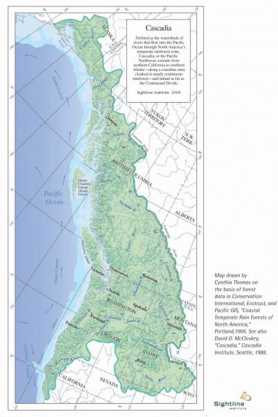 Sightline Cascadia Map